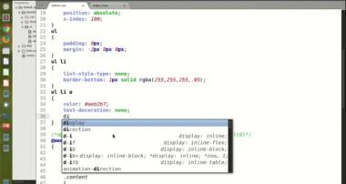 Membuat Template Administrator Dengan Bootstrap – 3 css kan menu