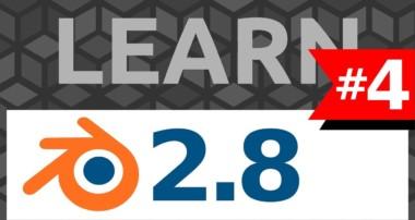 Learn Blender 2.8 #4 Rendering  – Tutorial