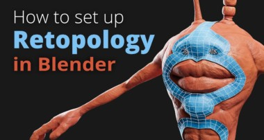 How to set up Retopology in Blender (Tutorial EN)