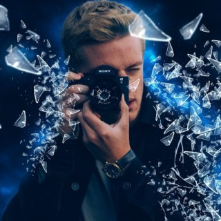 Photoshop: How to Create a Glass Shatter Effect – Tutorial