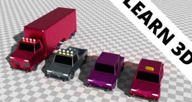 Blender tutorial: Simple cars