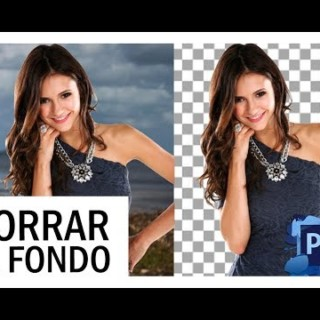 Photoshop Tutorial: Como quitar el fondo a una imagen con Photoshop CS6|How to remove the background