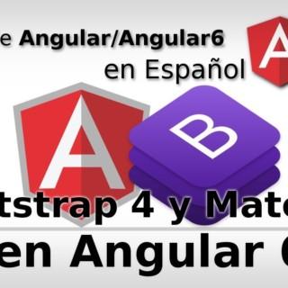 Curso de Angular en Español – Angular 6 con Bootstrap 4 y Material