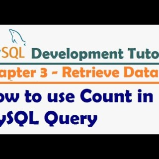 How to use Count in MySQL Query – MySQL Developer Tutorial | MySQL Tutorial for Beginners