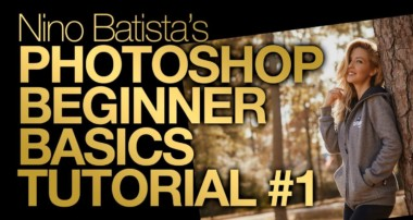 Photoshop Beginner Basics Tutorial #1 | Nino Batista