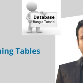 Bangla Database Tutorial 38 : Joining Tables