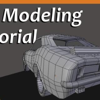 Blender – Car Modeling Project #4 [Tutorial]