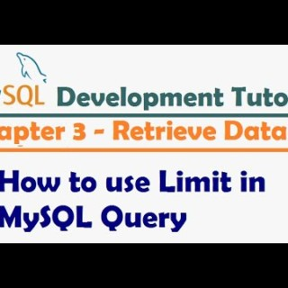 How to use Limit in MySQL Query – MySQL Developer Tutorial   MySQL Tutorial for Beginners