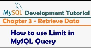 How to use Limit in MySQL Query – MySQL Developer Tutorial | MySQL Tutorial for Beginners