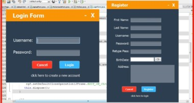 JAVA – How To Design Login And Register Form In Java Netbeans