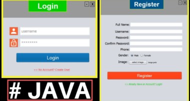 Java Project Tutorial – Make Login and Register Form Step by Step Using NetBeans And MySQL Database