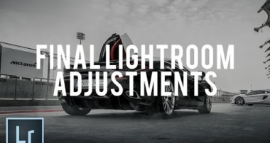 Car Photography – Automotive post processing tutorial – Part (7/7) Final Adjustments in Lightroom