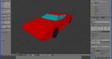 Blender Tutorial Making a Model of a Sports Car (Lowish Polygon Count) Part 1 The Body