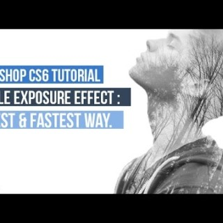 Photoshop CS6 : Double Exposure Effect Easy & Fast