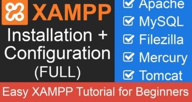 XAMPP Full Tutorial: Apache + MySQL + Filezilla + Tomcat + Mercury (update Nov. 2018)