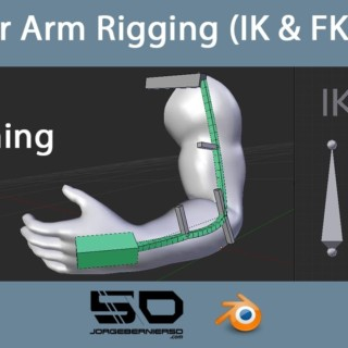 Blender Arm Rigging: IK & FK Setup – Plus Stretching Bones