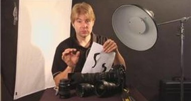 Photography Tips : How to Build a Paper Light Filter for Photography