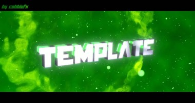 3D Blender Intro Template [SYNC] by CobbleFX