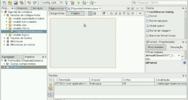 Video Tutorial Interface Agenda com Mysql e NetBeans Aula 1