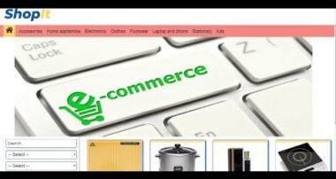E-Commerce website Tutorials in PHP & MySQL in Urdu/Hindi part 1 introduction