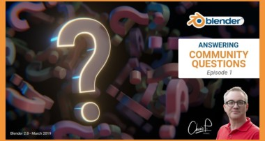 Blender Quick Tips – Answering Questions from the Community