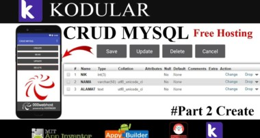 CRUD MYSQL (Part 2 Create) – Kodular