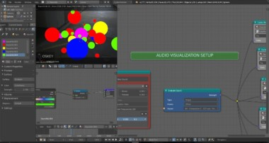 Audio Visualization with Blender 3D & Animation Nodes