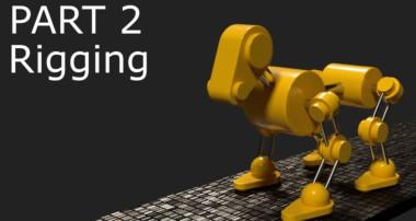 Blender Tutorial: Robot Dog Animation Part 2 – Rigging