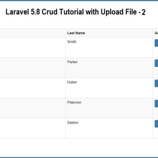 Laravel 5.8 Crud Tutorial with Upload File – 2