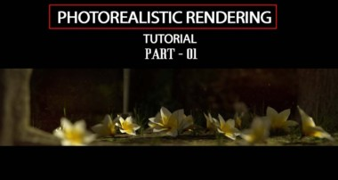How to Render a  Photorealistic Scene in Blender-Part-01