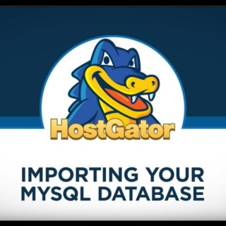 Importing MySQL Database