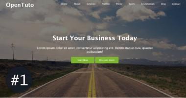 #1 – Créer un site web responsive en HTML, CSS, Bootstrap et jQuery : Environnement du travail