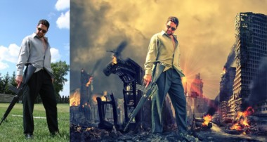 Mafia king photo manipulation   photoshop tutorial beginner cs6/cc