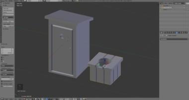 Blender Modeling Tutorial Indoor Toilet and Latrine | Inn Pt.12
