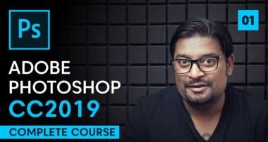 Adobe Photoshop CC 2019 Tutorials | Episode 1