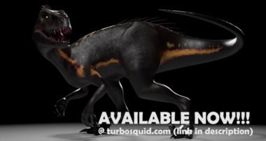 INDORAPTOR JURASSIC WORLD | Blender 3D Model
