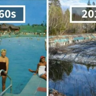 Photography Finds Location Of 1960s Postcards To See How They Look Today