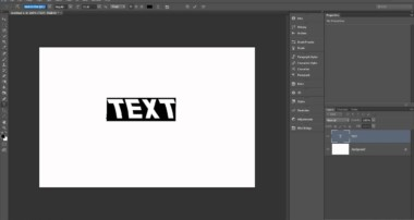 Photoshop Beginner Tutorial: Basic Text Options