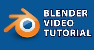 Blender Tutorial 11 : 3D Printers & Vector Art