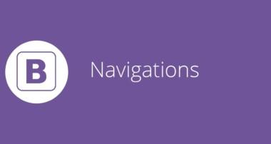 Bootstrap tutorial 17 – Navigation