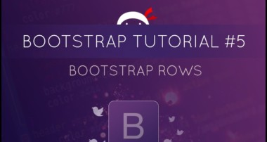Bootstrap Tutorial #5 – Rows
