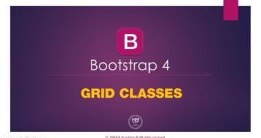 04 – Grid classes : Bootstrap 4 (Darija)