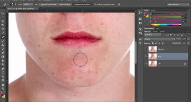 Adobe Photoshop – retusz twarzy