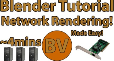 How to network render in Blender (WITHOUT the Network Render module)