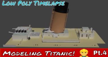 Blender Titanic Modeling Tutorial Pt.4