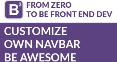 Customize Navbar Bootstrap Tutorial