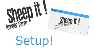 How to setup sheepit / sheepit tutorial (free render farm for blender)