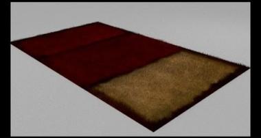 Videotutorial su Hair e Strand Render; esempio: come realizzare un tappeto in Blender e Cycles