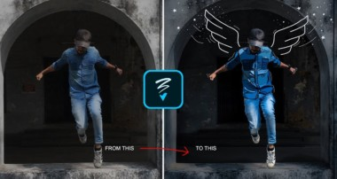 How to Add Drawing on your Photo – Malayalam Editing Tutorial