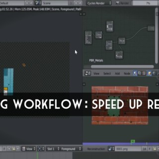 Blender Tutorial: Optimizing your workflow for beginners (Speed up Render Times)